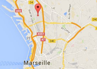 Access map to Annexx Marseille