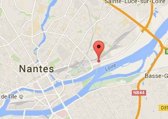 Access map to Annexx Nantes