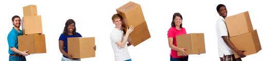 moving in a self storage unit